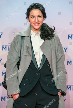 Iranian Minu Barati-fischer Arrives For the Premiere in Germany of the Movie 'The Secret Life of Walter Mitty' on the Red Carpet in Zoopalast in Berlin Germany 11 December 2013 the Movie Will Be Released in German Theatres on 01 January 2014 Germany Berlin
