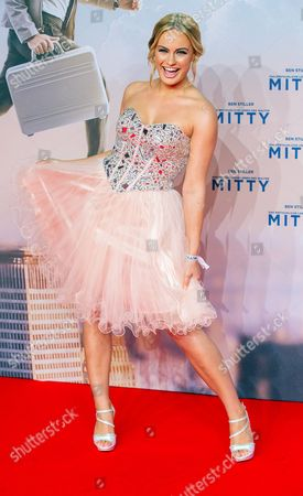 Anne Julia Hagen Miss Germany 2010 Arrives For the Premiere in Germany of the Movie 'The Secret Life of Walter Mitty' on the Red Carpet in Zoopalast in Berlin Germany 11 December 2013 the Movie Will Be Released in German Theatres on 01 January 2014 Germany Berlin