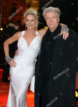 Stock Photo of German Actor Juergen Prochnow (r) and His Wife Birgit Stein Arrive For the 48th Golden Camera Award Ceremony in Berlin Germany 02 February 2013 the Awards Honour Outstanding Achievements in Television Film and Entertainment Germany Berlin