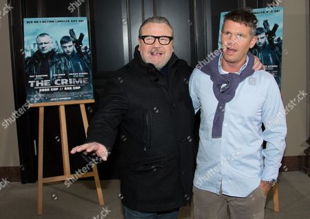 Stock Picture of British Actor Ray Winstone (l) and the British Director Nick Love Pose During the Photocall 'The Sweeney' in Berlin Germany 29 January 2013 the Movie Will Be Released in German Cinemas on 28 February 2013 Germany Berlin