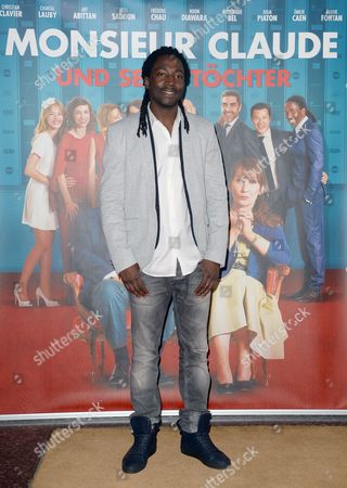 French Actor Noom Diawara Arrives For the German Premiere of 'Monsieur Claude and His Daughters' at Kino International in Berlin Germany 23 July 2014 the Movie Will Be Released in German Theatres on 24 July Germany Berlin