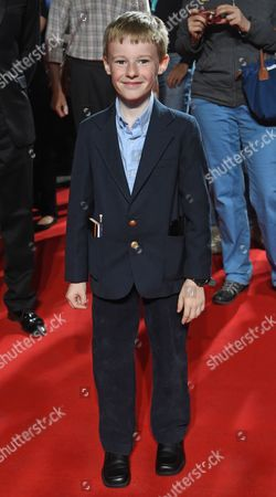 Canadian Actor/cast Member Kyle Catlett Attends the Premiere of 'The Young and Prodigious T S Spivet' During the Opening Night of the Munich Film Festival in Munich Germany 27 June 2014 the Event Runs From 27 June to 05 July Germany Munich