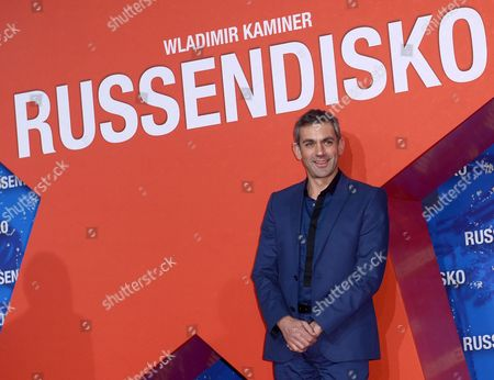 Russian-born German Writer Wladimir Kaminer Arrives For the Premiere of 'Russendisko' (russian Disco) in Berlin Germany 21 March 2012 the Movie Opens in German Theatres on 29 March Germany Berlin