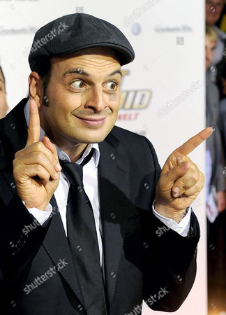 German Actor Comedian and Presenter Kaya Yanar Poses For Pictures As He Arrives For the Premiere of the Movie 'Agent Ranjid Save the World' in Cologne Germany 17 October 2012 the Movie Will Be Released in German Theatres on 18 October 2012 Germany Cologne