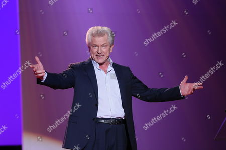 German Actor Miroslav Nemec Speaks on Stage During the Presentation of the Award Ceremony of the Hessian Film and Cinema at the Alte Oper in Frankfurt Am Main Germany 11 October 2013 the Awards Are Endowed with a Total of 185 000 Euros Germany Frankfurt/main