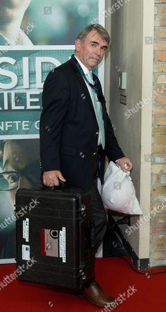 German Gustl Mollath Arrives For the Premiere of the Movie 'Inside Wikileaks - the Fifth Estate' in Berlin Germany 21 October 2013 Germany Berlin