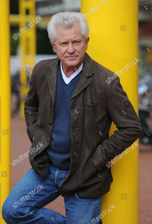 German Actor Miroslav Nemec Poses For Photographs During a Shooting of the Episode 'Am Ende Des Flurs' (lit at the End of the Corridor) of the Detective and Murder Series 'Tatort' in Munich Germany 09 September 2013 Germany Munich