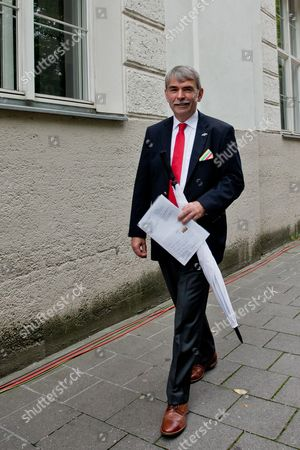 Gustl Mollath Leaves the Regional Court of Regensburg Germany 14 August 2014 Mollath was Acquited of All Charges in a Retrial After He was Able to Leave the Psychiatric Ward where He was Held Against His Will For Years Germany Regensburg