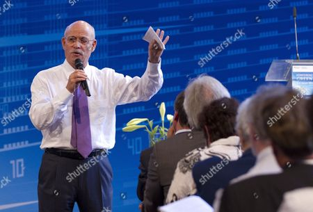 American Economist Jeremy Rifkin of the Foundation on Economic Trends Speaks at the Green Economy Conference in Berlin Germany 04 September 2021 Germany Berlin