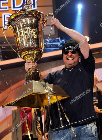 German Comedian Markus Krebs Poses with His Trophy After the Final of the Show 'Rtl Comedy Grand Prix ' in Cologne Germany 18 November 2011 Rtl Viewers Voted For Krebs As 'Comedystar 2011' Ahead of Seven Other Contestants Germany Cologne
