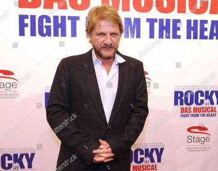 German Director Soenke Wortmann Arrives For the Premiere of the Musical 'Rocky' at Tui Opera House in Hamburg Germany 18 November 2012 Germany Hamburg