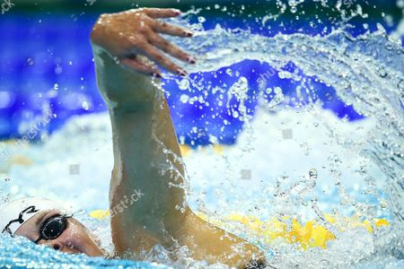 Lotte Friis of Denmark Competes in the Women's 800m Freestyle Preliminaries at the 32nd Len European Swimming Championships 2014 at the Velodrom in Berlin Germany 20 August 2014 Germany Berlin