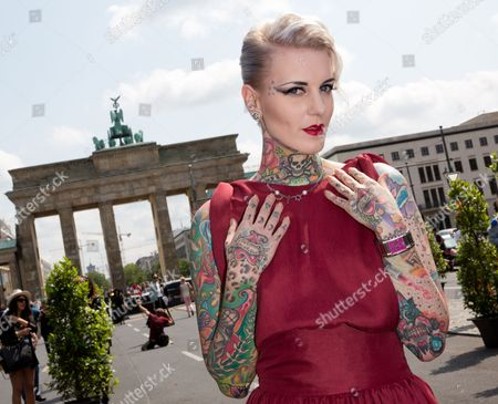 Editorial picture of Germany Fashion Mercedes Benz - Jul 2013