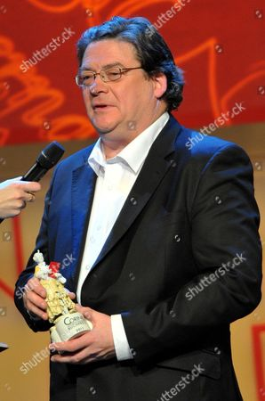 British Writer John Burnside Receives the Corine Fiction Award For His Book 'Lies About My Father' in Munich Germany 17 November 2011 Germany Munich