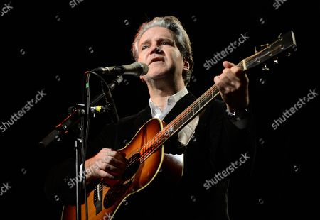 British Singer and Musician Lloyd Cole Performs During a Concert at Heimathafen Neukoelln in Berlin Germany 09 December 2013 Germany Berlin