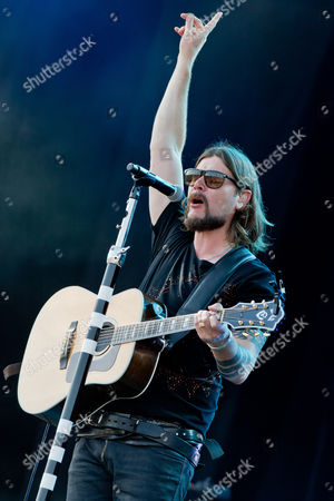 Irish Singer and Guitarist Rea Garvey Performs on Stage During the Music Festival 'Rock Im Park' in Nuremberg ágermany 07ájune 2014 the Festival Continues Until 09 June Germany Nuremberg