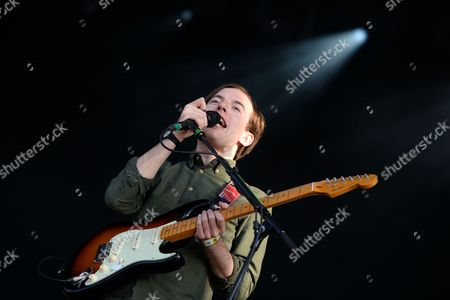 Jack Steadman Frontman of the British Band 'Bombay Bicycle Club' Performs at the Southside Festival in Neuhausen Ob Eck Germany Late 21 June 2014 the Music Festival Runs From 20 to 22 June Germany Neuhausen Ob Eck