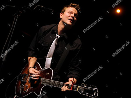 Us Singer Tyler Ward on Stage in Berlin Germany 11 March 2012 Ward Will Also Perform in Cologne Frankfurt and Munich and Has Announced a Second German Tour For October Germany Berlin