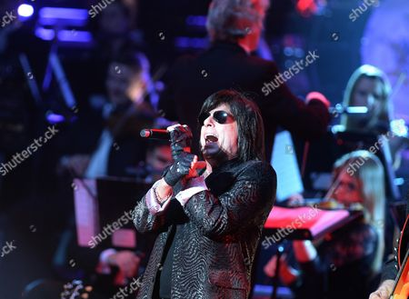 Us Singer Joe Lynn Turner Performs on Stage During the Opening Night of the Euroopean Tour of 'Rock Meets Classic' in Berlin Germany 09 March 2014 During the Annual Event Five Musicians a Symphony Orchestra and a Band Play Famous Rock Hits Germany Berlin