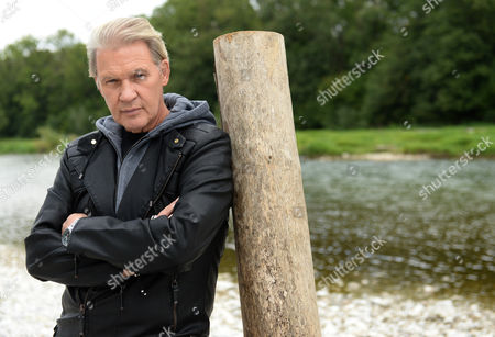 A Picture Made Available 21 September 2013 Shows Irish Musician Johnny Logan Posing For the Photographer at the Isar River in Munich Germany 11 September 2013 Logan's New Album 'The Irish Soul - the Irish Connection 2' Will Be Released on 11 October Germany Munich