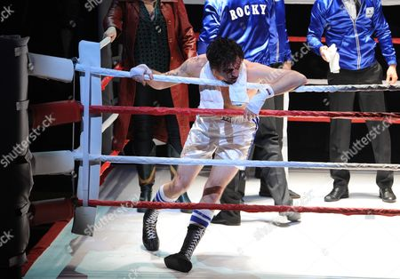 Us Actor Drew Sarich Performs As Rocky During the Premiere of the Musical 'Rocky' at the Tui Opera House in Hamburg Germany 18 November 2012 Germany Hamburg