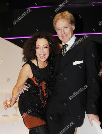 German Actor Barbara Wussow (l) and Her Husband Albert Fortell Pose After the Premiere of the Play 'Jedermann' in Berlin German 18 October 2012 Germany Berlin