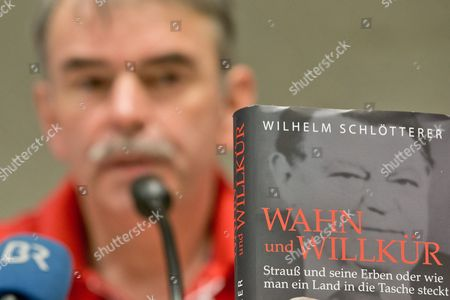 Gustl Mollath Speaks During the Presentation of the Book 'Wahn Und Willkuer' (lit: Delusion and Arbitrariness) by Wilhelm Schloetterer in Bayreuth Germany 07 July 2013 a Part of the Book Deals with the Case of Mollath who Had Been Sent to a Psychiatric Ward the Decision was Apparently a Wrong One and is Currently Under Apparently in Vain His Case is Currently Being Revised by a Court Germany Bayreuth