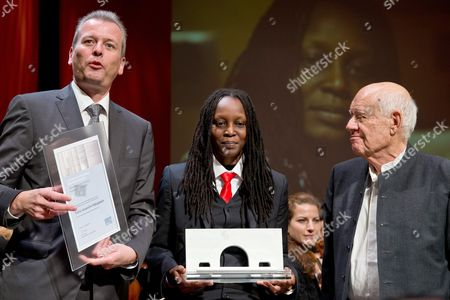 Editorial picture of Germany Uganda Human Rights Prize - Sep 2013