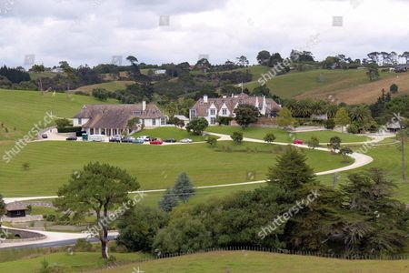 The Property in Coatesville Near Auckland New Zealand 20 January 2012 One of the Most Expensive in the Country and Rented by Co-operator of the File-sharing Platform Megaupload Kim Schmitz Reports State on 20 January 2012 That Us Authorities on 19 January 2012 Said They Had Shut Down the File-sharing Site Megauplaod For Alleged Copyright Infringements Charging Seven People Including the Founder who Goes by the Name of Kim Dotcom Four of Those Arrested Were Taken Into Custody in New Zealand at the Request of Us Authorities the Statement Said in Addition to Dotcom Whose Real Name is Kim Schmitz Those Charged Included Megauploads Chief Marketing Officer Finn Batato 38 of Germany Svenn Echtenach and Mathias Ortmann Also From Germany who Were the Sites Head of Business Development and Chief Technical Officer Respectively New Zealand Coatesville