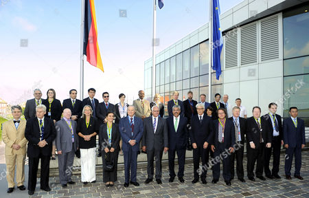 The 24 Commissioners of the Repective Member Countries of the Commission For the Conservation of Antarctic Marine Living Resources (ccamlr) Pose For a Group Photo at the Beginning of the International Conference For the Establishment of Protection Zones in the Antarctica in Bremerhaven Germany 15 July 2013 Back Row (l-r): Jose Retamales (chile) Carolyn Schwalger (new Zealand) Fausto Mariano Lopez Crozet (argentina) Chung Keeyong (south Korea) Frederic Chemay (belgium) Dorothee Herr (iucn) Monde Mayekiso (south Africa) Jane Rumble (great Britain) Tony Fleming (australia) Seppo Nurmi (eu) Walter Duebner (germany) Kenro Iino (japan) James Barnes (asoc) and Leonid Pshenichov (ukraine) Front Row (l-r): Olivier Guyonvarch (france) Gunnar Skegestadt (norway) Chief Ankama (namibia) Helena Odmark (sweden) Maria Elizabeth Bogosian Alvarez (uruguay) Arduino Fornara (italy) State Secretary Peter Bleser Bremerhaven Mayor Melf Grantz Chairman of the Commission Terje Loebach Carmen Margarita Mancebo Robledo (spain) Chris Jones As Chairman of the Science Comittee Andrew Wright As Executive Secretary of Ccamlr Evan T Bloom (usa) Dmitry Kremenyuh (russia) and Wensheng Qu (china) Germany Bremerhaven