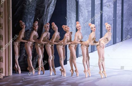 Dancers Perform During a Photocall of the Ballet 'Don Juan' at the Komische Oper in Berlin Germany 19 June 2014 the Play by Italian Director Giorgio Madia Will Premiere on 21 June Germany Berlin