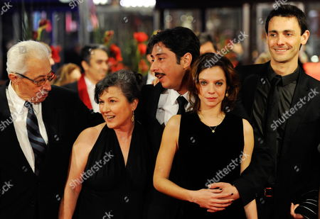 Actor Henrique Espirito Santo (l-r) Portuguese Actress Teresa Madruga Portuguese Director Miguel Gomes Portuguese Actress Ana Moreira and Actor Ivo Mueller Arrive For the Premiere of Their Movie 'Tabu' During the 62nd Berlin International Film Festival in Berlin Germany 14 February 2012 the Movie is Presented in Competition at the 62nd Berlinale That Runs From 09 to 19 February Germany Berlin
