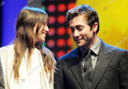 Jury Members French Actress Charlotte Gainsbourg and Us Actor Jake Gyllenhall Onstage During the Opening Gala of the 62nd Berlin International Film Festival in Berlin Germany 09 February 2012 the Movie 'Farewell My Queen (les Adieux a La Reine)' Has Been Selected As the Festival's Opening Film and is Part of the Main Competition the the 62nd Berlinale Takes Place From 09 to 19 February Germany Berlin