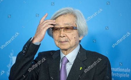 Japanese Director Yoji Yamada Poses During the Photocall For 'Chiisai Ouchi' (the Little House) at the 64th Annual Berlin Filmáfestival in Berlin Germany 14 February 2014 the Movie is Presented in the Official Competition of the Berlinale Which Runs From 06 to 16 February 2014 Germany Berlin
