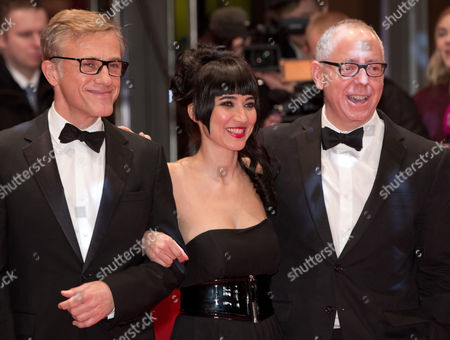 Jury Members (l-r) Christoph Waltz Mitra Farahani and James Schamus Arrive For the Closing and Awards Ceremony of the 64th Annual Berlin Filmáfestival in Berlin ágermany 15 February 2014 the Berlinale Festival Runs Until 16 February Germany Berlin