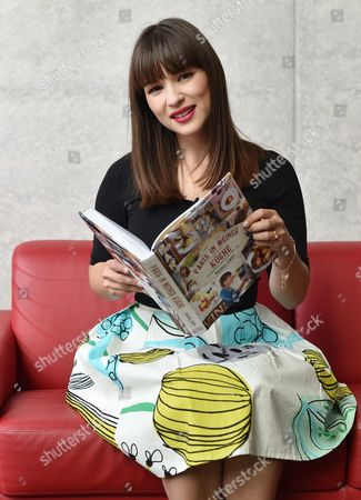 British Chef Author and Television Presenter Rachel Khoo Poses in a Television Studio in Berlin ágermany 24 July 2014 the Shooting Star of Europe's Television Chefs is Known From Her Bbcáseries 'The Little Paris Kitchen: Cooking with Rachel Khoo ' Which is Now Being Shown on German Channel Sixx Epa/jensákalaene Germany Berlin