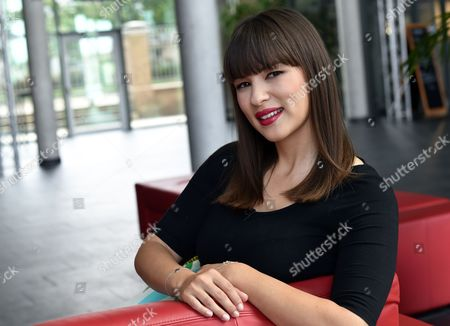 British Chef Author and Television Presenter Rachel Khoo Poses in a Television Studio in Berlin ágermany 24 July 2014 the Shooting Star of Europe's Television Chefs is Known From Her Bbcáseries 'The Little Paris Kitchen: Cooking with Rachel Khoo ' Which is Now Being Shown on German Channel Sixx Germany Berlin