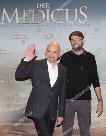 British Actor Ben Kingsley (l) and German Director Philipp Stoelzl (r) Pose During a Photocall For 'The Physician' in Berlin Germany 04 December 2013 the Movie Will Premiere on 25 December 2013 in German Theaters á Germany Berlin