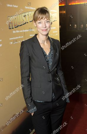 Actress Jenny Schily Arrives For the Premiere of 'Houston' in Berlin Germany 19 November 2013 the Movie Opens in German Theaters on 05 December Germany Berlin