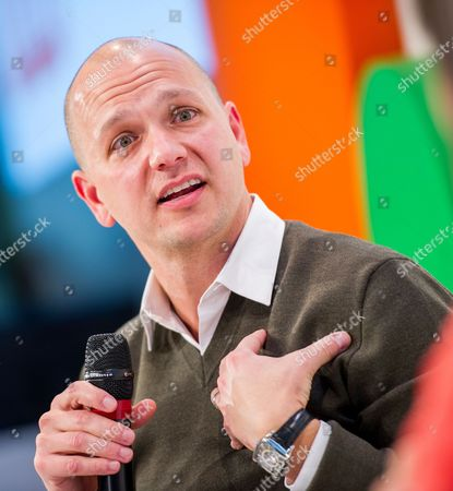 Us American Computer Engineer and Founder of the Company 'Nest Labs' Tony Fadell Speaks During the Digital Life Design Conference in Munich Germany 20 January 2014 Germany Munich