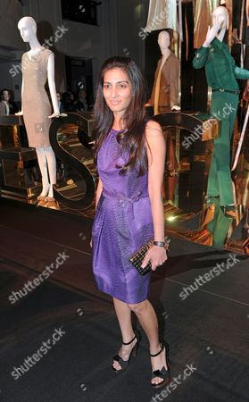 A Picture Made Available on 04 July 2012 Shows Indian Megha Mittal Chairwoman and Managing Director of German Luxury Fashion Brand Escada Arriving For the Event 'The World of Escada' at Kadewe (department Store of the West) During Berlin Fashion Week in Berlin Germany 03 July 2012 Germany Berlin