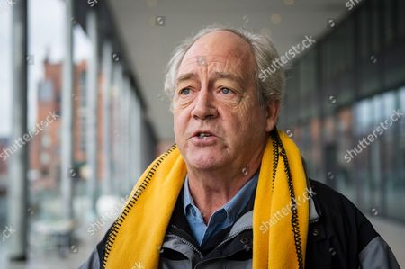 Greenpeace Founder and Activist Patrick Moore Gives an Interview Outside of Greenpeace Headquarters in Hamburg ágermany 17 January 2014 Greenpeace Activists Protested to Help Children with a Vitamin a Deficiency in Asia and Africa with the Campaign 'Allow Goldenrice Now' Germany Hamburg