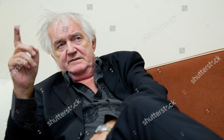 Swedish Author Henning Mankell Speaks During an Interview in Munich Germany 07 November 2013 Germany Munich