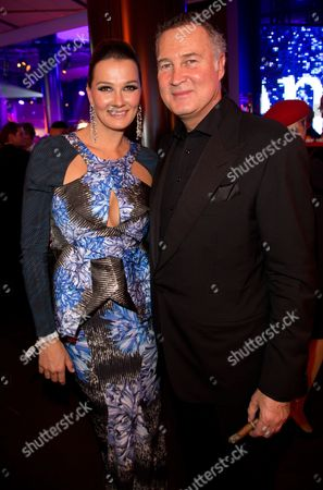 Former Swimmer Franziska Van Almsick and Her Husband Juergen B Harder During the After-show-party of the Award Ceremony Bambi in Duesseldorf Germany 23 November 2012 the Bambis Are the Main German Media Awards and Are Presented For the 64th Time Germany Duesseldorf