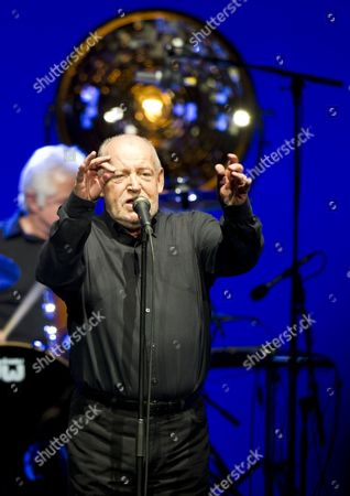 British Singer Joe Cocker Performs on Stage in Berlin Germany 25 April 2013 As Part of His World Tour Germany Berlin