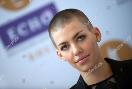 Singer Alina Sueggeler of the Band Frida Gold Poses at a Press Conference on the Occasion of the Echo 2012 Music Award in Berlin Germany 21 March 2012 the Echo Will Be Awarded For the 21st Time in Berlin on 22 March 2012 Germany Berlin