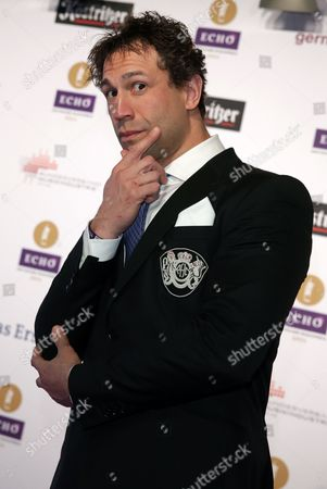 Us Musician Jared Hasselhoff Arrives For the 23rd Echoámusic Awards Ceremony in Berlin Germany 27ámarch 2014 the Awards Are Presented For Outstanding Achievement in the Music Industry Germany Berlin