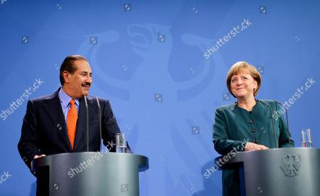 Editorial photo of Germany Qatar Visit - Apr 2013