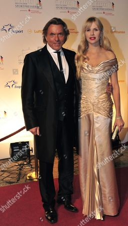 German Fashion Designer Otto Kern (l) and His Wife Naomi Pose on the Red Carpet As They Arrive For the 30th German Sporting Press Ball in the ''alte Oper'' Opera House in Frankfurt/main Germany 05 November 2011 Evening Germany Frankfurt