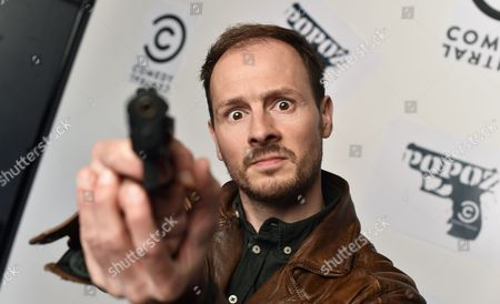 Dutch Actor Huub Smit Poses As Ivo During the Press Conference For the Presentation of the Tv Comedy Series 'Popoz' in Berlin Germany 09 April 2014 From 20 April 2014 the Series Will Be Aired on Comedy Central Germany Berlin